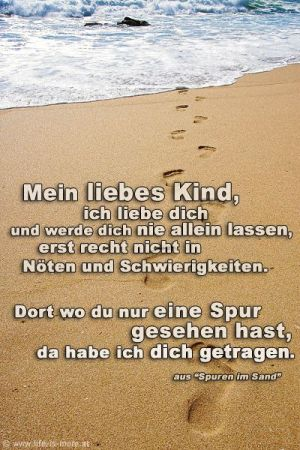 Spuren Im Sand Footprints In The Sand